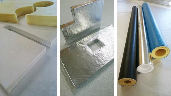 当社は主にGW等の各種断熱材の加工も承っております。